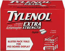 Tylenol Extra Strength Pain Reliever 12X10Ct