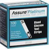 Assure Platinum Blood Glucose Test Strips 100 By Arkray