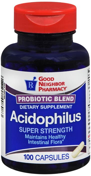 GNP ACIDOPHILUS PROBIOTIC BLEND CAP 100 BY 21st Century