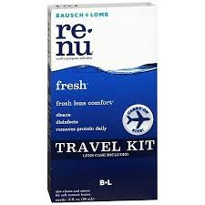Re-Nu Fresh Multi-Purpose Solution Travel Kit - 2.0 fl oz bottle by Bausch & Lom