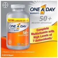 One-A-Day Women's 50+ Multivitamin 220 Tablets