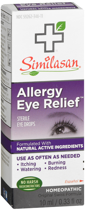Similasan Eye Allergy Relief Drop 10ml Similasan Corp