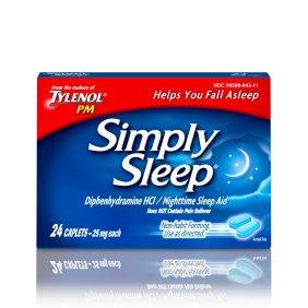 Simply Sleep 25 mg Caplets 24
