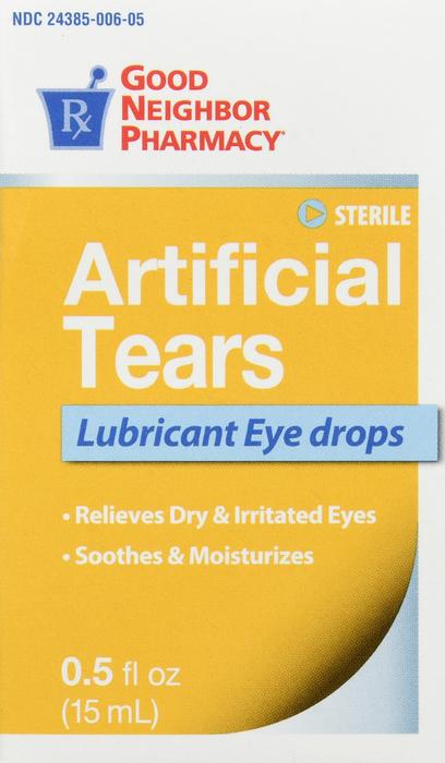 GNP ARTIFICAL Tears 15ml
