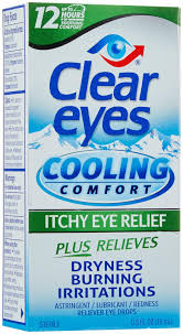 Clear Eyes Cooling Comfort Itchy Eye Relief Drops - 0.5 fl ozbottle