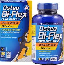 Osteo Bi-Flex Advanced Triple Strength With Vitamin D3 Caplets - 80Ct