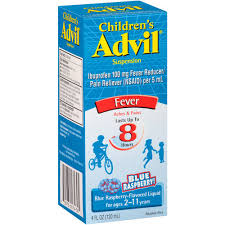Advil Child 100mg Suspension Berry 4oz. Advil Child 100mg Suspension Berry 4oz. Item No.:4115194 Ndc No.: 00573017430 Upc No.: 305730174305 Item Description: Children'S Ibuprofen Other Name:Advil Chil