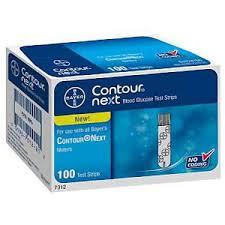 Bayer CONTOUR NEXT TEST STRIP 100CT Retail pack