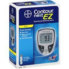 Contour Next EZ Meter System By Bayer Healthcare Diabetes Div. Item No.:4173351 NDC No.: 00193-7252-01 0193-7252-01 0193725201 00193725201 UPC No.: 301937252013 3-01937-25201-3 301937-252013 Item Desc