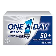 One-A-Day Men's 50+ Healthy Advantage Multivitamin, Tablets - 65 count