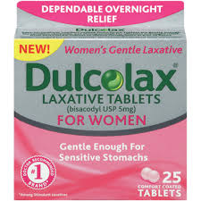 Dulcolax Laxative For Women Comfort Coated Tablets - 25 Count