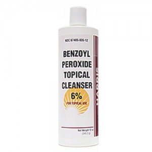 Benzoyl Peroxide Cleanser 6% - 6 oz By Harris