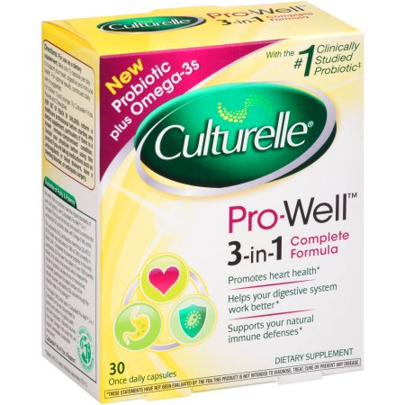 Culturelle Completee Formula Pro-Well 3-In-1 Once Daily Capsules - 30 Capsules