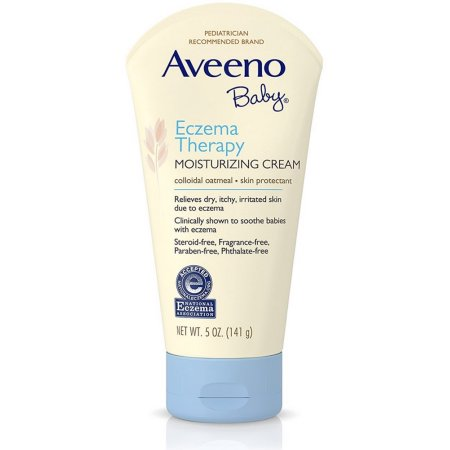 Aveeno Baby Eczema Therapy Moisturizing Cream 5 oz By J&J Consumer Item No.:OTC171611 171611 NDC No.: 08137101845 UPC No.: 381371018451 Item Description: Baby Therapeutic Skin Care Other Name:Aveeno B