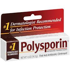 Polysporin First Aid Antibiotic Ointment - 0.5 oz Tube