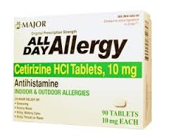All Day Allergy 10mg Tablet 90 Count Maj