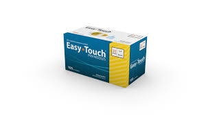 Easy Touch Pen Needle 31G 1/4 h 100Ct