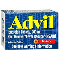 Advil 200 mg Tab 24 by Pfizer