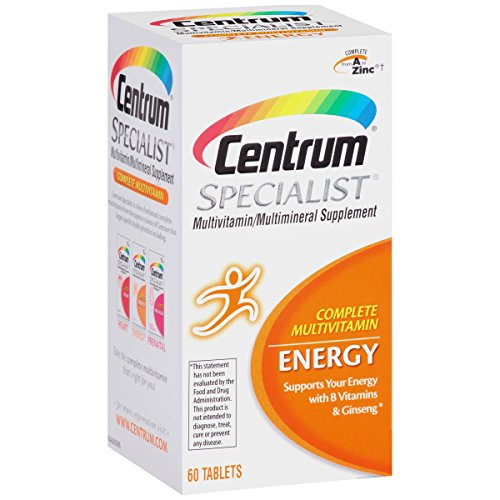 Free Shipping Centrum Specialist Multivitamin And Multimineral Energy Tablets