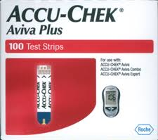 Accu-Chek Aviva Plus Test Strip 100 Count Retail Pack