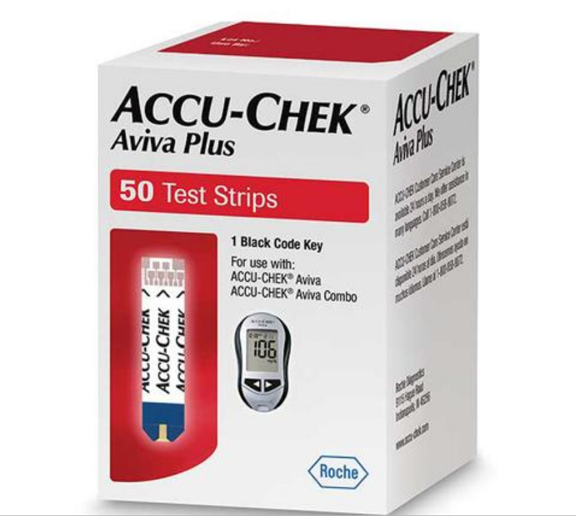 Accu-Chek Plus Strips 50 Count Hospital/Physician Use