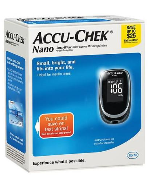 Accu-Chek Blue Box Nano Meter Kit