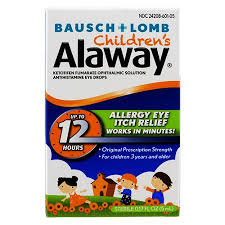 Alaway Children's Eye Drops 0.5 Fl oz Bottle