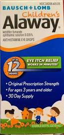 Alaway Children's Antihis Eye Drop 5ml By Valeant Pharma