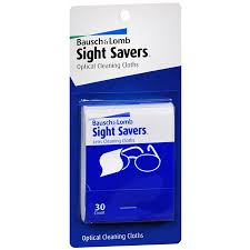 Bausch & Lomb Sight Savers Lens Cleaning Cloths - 2 - 24 count booklets