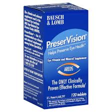 PreserVision Eye Vitamin and Mineral Supplement, Tablets - 120 count