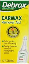 Debrox Earwax Removal Aid, Drops - 0.5 fl oz Debrox Earwax Removal Aid, Drops - 0.5 fl oz bottle  Item No.:4203653 Ndc No.: 42037010478 Upc No.: 042037104788 Item Description: Ear Drops & Syringes Oth