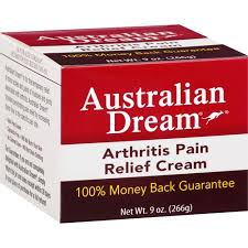 Australian Dream Arthritis Pain Relief Cream  9oz Free Shipping 2 pack
