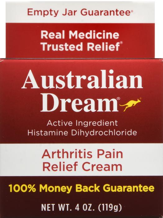 Australian Dream Arthritis Pain Relief Cream, 4 Ounce