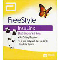 Freestyle Insulinx Test Strip 100Ct by ABBOTT FREESTYLE INSULINX TEST STRIP 100CT By Abbott Diabetes Care Sales Item No.:4200206 Ndc No.: 99073071227 Upc No.: 699073712271 Item Description: Test Strip