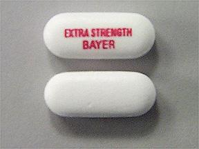 Bayer Aspirin Extra Strength 500 mg Tab 100