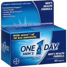 One-A-Day Men's Health Formula Tablets - 60 Count