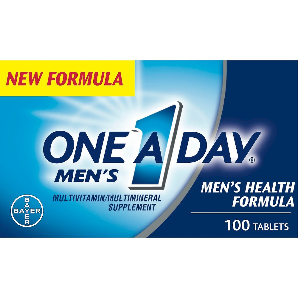 One-A-Day Men's Health Formula Multivitamin Tablet 100