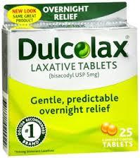Dulcolax 5mg Tablet 25Ct