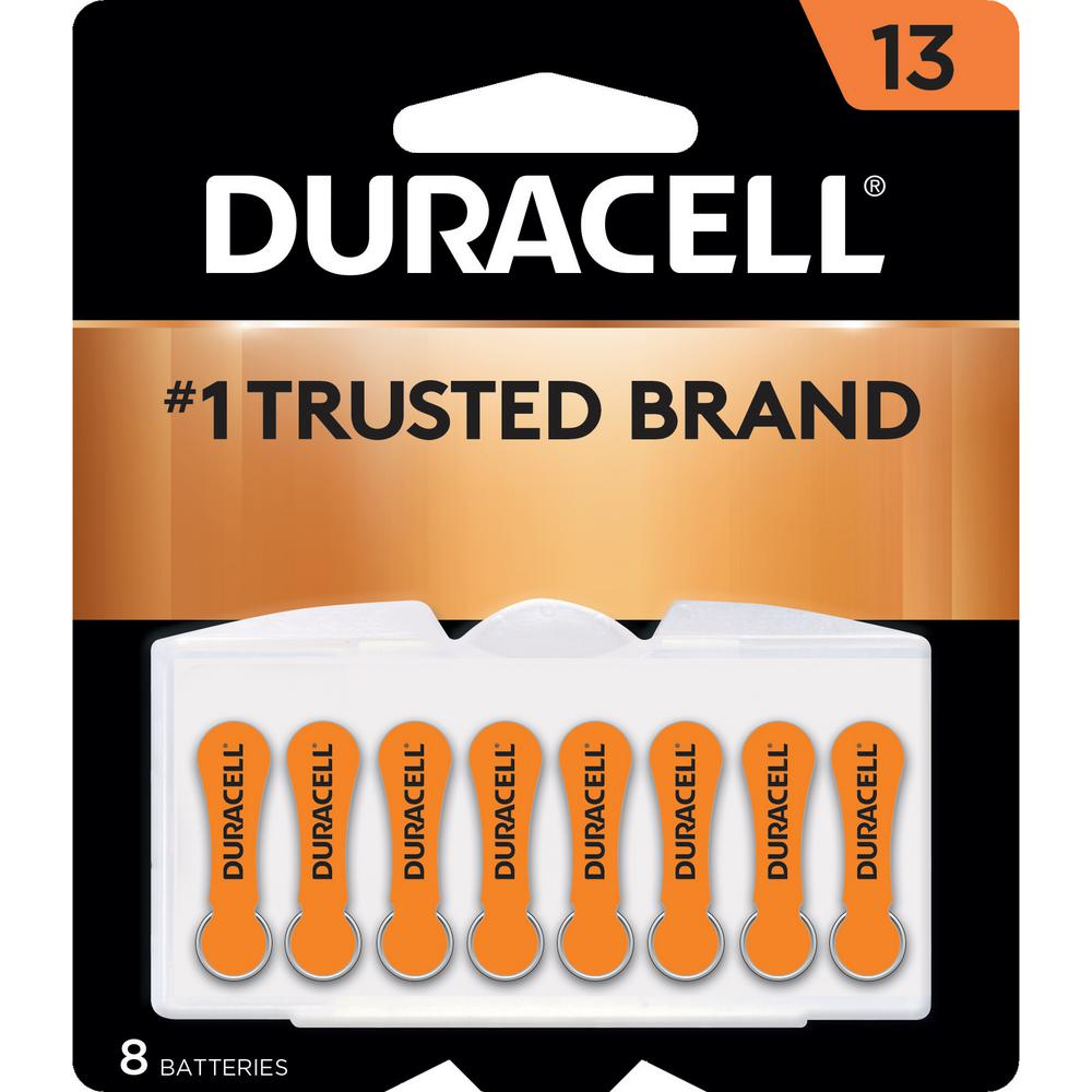 Case of 12-Duracell Hearing Aid Easy Tab 13 8Pk