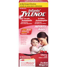 Tylenol Infants Acetaminophen Oral Suspension Cherry - 2 Fl oz Bottle