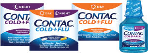CONTAC COLD FLU