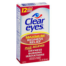 Clear Eyes Maximum Redness Relief 1oz