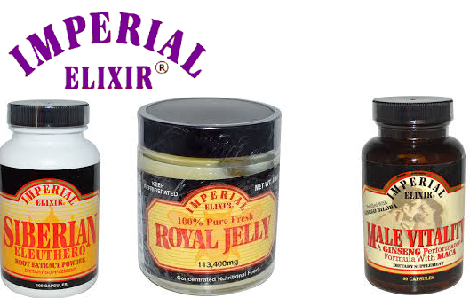 Imperial Elixir Ginseng & Royal Jelly 30/10 Ml
