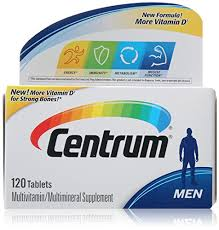 Centrum Multivitamin/Multimineral Supplement For Men Tablets - 120 Count