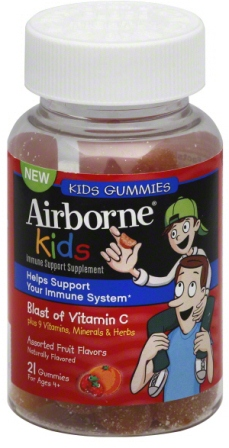Airborne Kids Gummy 21 Count By Reckitt Benckiser