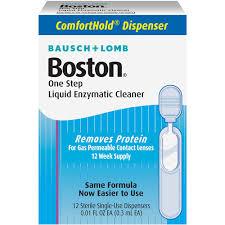 Boston One Step Liquid Enzymatic Cleaner - 0.08 fl oz bottle
