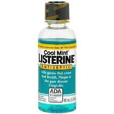 COOL MINT LISTERINE Antiseptic Mouthwash, 3.2 Oz