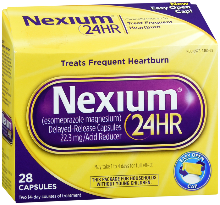 Nexium 24Hr OTC 20mg Capsule 28Ct
