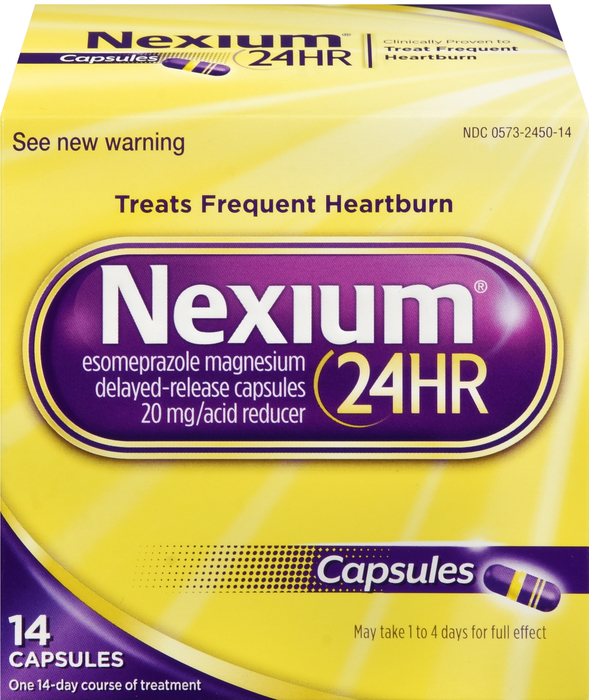 Nexium 24Hr OTC 20mg Capsule 14Ct