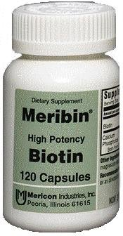 Biotin 5 mg Cap 120 By Mericon Industries
